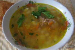 Суп из тушенки за 20 минут