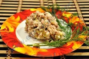 Салат из сардин консервированных