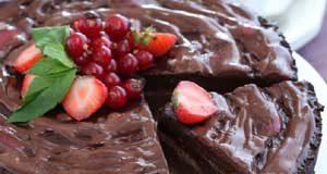 Самый простой шоколадный пирог
