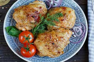 Курица с паприкой