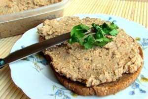 Мясной паштет для завтрака или перекуса