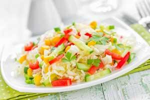"""Салат из свежей капусты с овощами """"Мономах"""""""