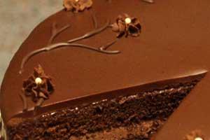 Простой шоколадный бисквитный торт