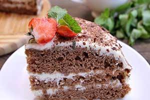 Торт на кефире «Фантастика»