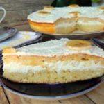 Бисквитный торт на кефире