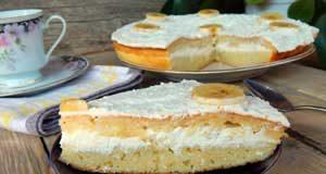 Торт манник на кефире